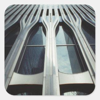 USA, New York, Manhattan, World Trade Center Square Sticker