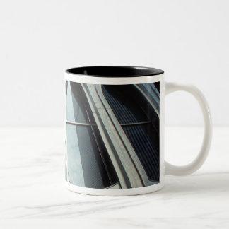 USA, New York, Manhattan, World Trade Center Two-Tone Coffee Mug