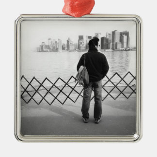 USA, NEW YORK: New York City Aboard the Staten Christmas Ornament