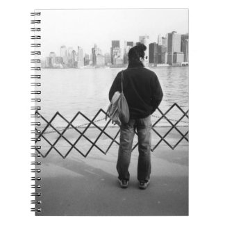 USA, NEW YORK: New York City Aboard the Staten Note Books