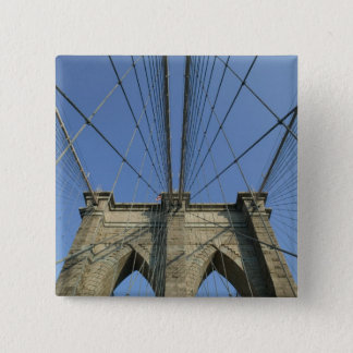 USA, New York, New York City, Brooklyn: 2 15 Cm Square Badge