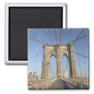 USA, New York, New York City, Brooklyn: 3 Magnet