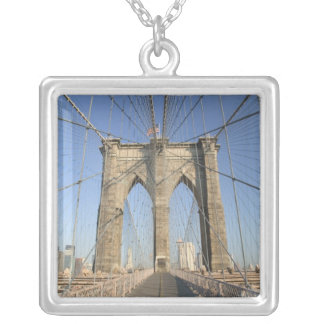 USA, New York, New York City, Brooklyn: 3 Silver Plated Necklace