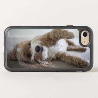 USA, New York, New York City, Brooklyn, Cockapoo OtterBox Symmetry iPhone 7 Case