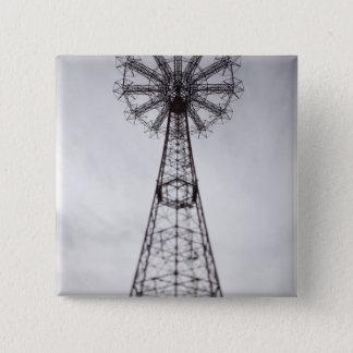 USA, New York, New York City, Brooklyn: Coney 15 Cm Square Badge