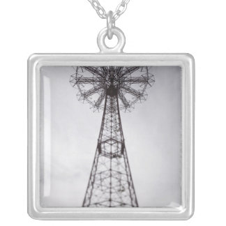 USA, New York, New York City, Brooklyn: Coney Square Pendant Necklace