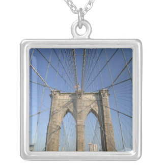 USA, New York, New York City, Brooklyn: Silver Plated Necklace