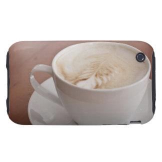 USA, New York, New York City, Cappuccino iPhone 3 Tough Cover