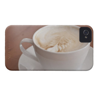 USA, New York, New York City, Cappuccino iPhone 4 Case-Mate Cases