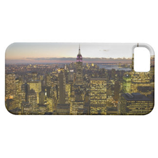 USA, New York, New York City, Cityscape at dusk 2 iPhone 5 Cover
