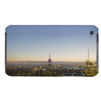 USA, New York, New York City, Cityscape at dusk iPod Touch Case