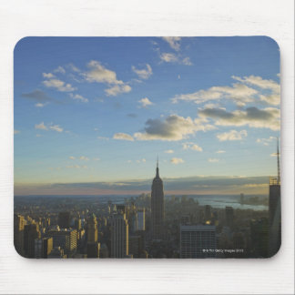USA, New York, New York City, Cityscape at Mouse Mat