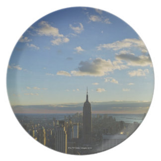 USA, New York, New York City, Cityscape at Plate