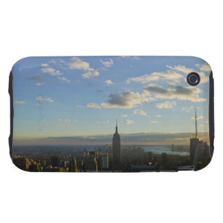 USA, New York, New York City, Cityscape at Tough iPhone 3 Case
