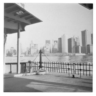 USA, NEW YORK: New York City Lower Manhattan Tile