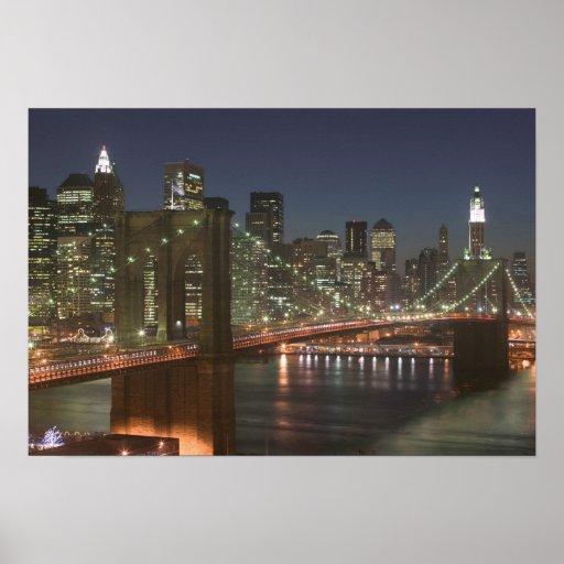 USA, New York, New York City, Manhattan: 10 Posters