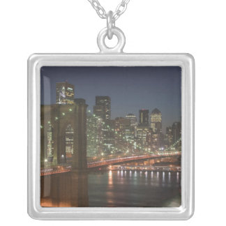 USA, New York, New York City, Manhattan: 10 Silver Plated Necklace