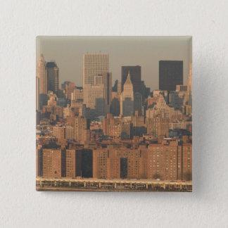 USA, New York, New York City, Manhattan: 12 15 Cm Square Badge