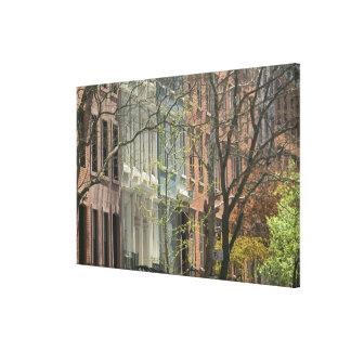 USA, New York, New York City, Manhattan: 12 Canvas Print