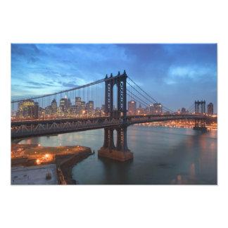 USA, New York, New York City, Manhattan: 12 Photo Print