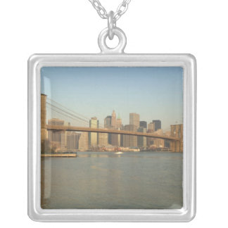 USA, New York, New York City, Manhattan: 13 Silver Plated Necklace