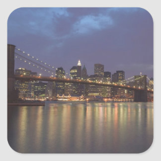 USA, New York, New York City, Manhattan: 14 Square Sticker