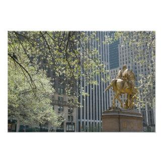USA, New York, New York City, Manhattan: 16 Photo Print