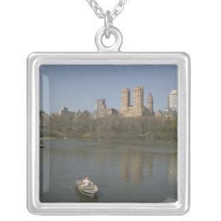 USA, New York, New York City, Manhattan: 17 Silver Plated Necklace