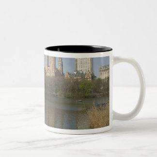 USA, New York, New York City, Manhattan: 17 Two-Tone Coffee Mug