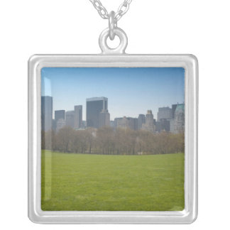 USA, New York, New York City, Manhattan: 18 Silver Plated Necklace