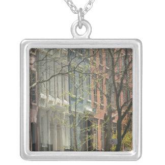 USA, New York, New York City, Manhattan: 20 Silver Plated Necklace