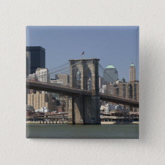 USA, New York, New York City, Manhattan: 21 15 Cm Square Badge