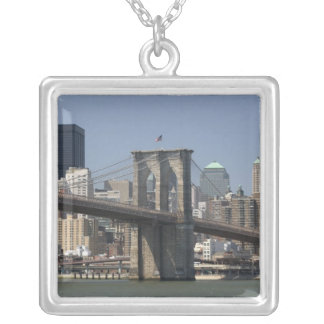 USA, New York, New York City, Manhattan: 21 Silver Plated Necklace
