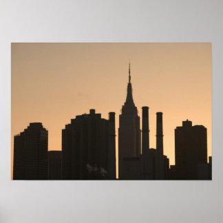 USA, New York, New York City, Manhattan: 23 Poster