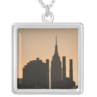 USA, New York, New York City, Manhattan: 23 Silver Plated Necklace