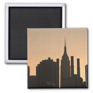 USA, New York, New York City, Manhattan: 23 Square Magnet