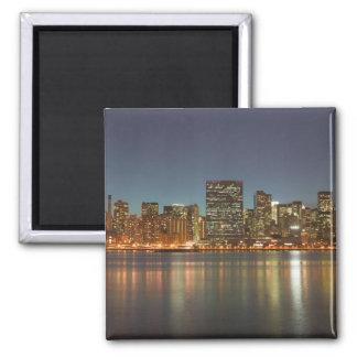 USA, New York, New York City, Manhattan: 24 Square Magnet