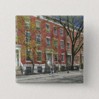 USA, New York, New York City, Manhattan: 25 15 Cm Square Badge