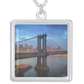 USA, New York, New York City, Manhattan: 26 Silver Plated Necklace