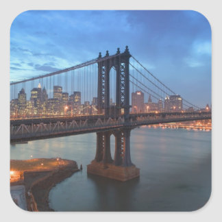 USA, New York, New York City, Manhattan: 26 Square Sticker