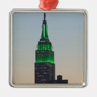USA, New York, New York City, Manhattan: 2 Christmas Ornament