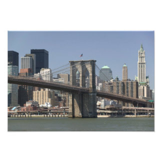 USA New York New York City Manhattan 3 Photo Print