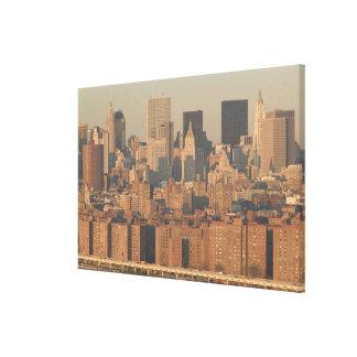 USA, New York, New York City, Manhattan: 4 Canvas Print