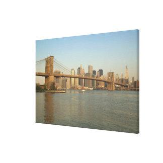 USA, New York, New York City, Manhattan: 5 Canvas Print