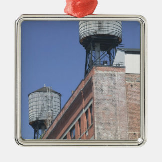 USA, New York, New York City, Manhattan: 5 Christmas Ornament