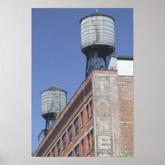 USA, New York, New York City, Manhattan: 5 Poster