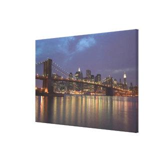 USA, New York, New York City, Manhattan: 6 Canvas Print