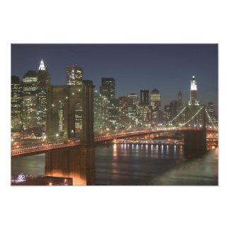 USA New York New York City Manhattan 6 Photo Print