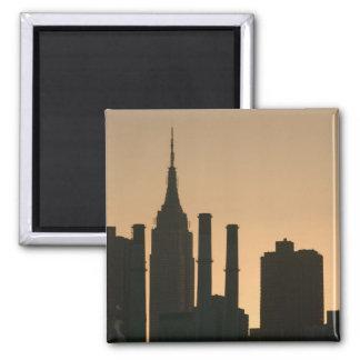 USA, New York, New York City, Manhattan: 6 Square Magnet