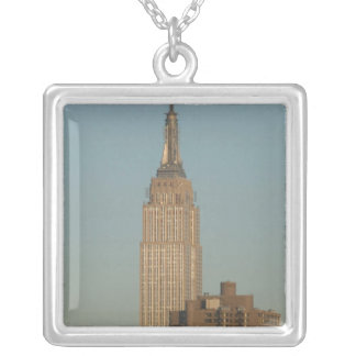 USA, New York, New York City, Manhattan: 7 Silver Plated Necklace